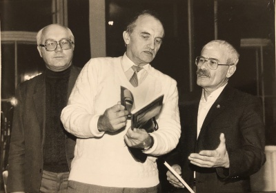 P. Palilionis, A. Dabulskis,Icchokas Meras
