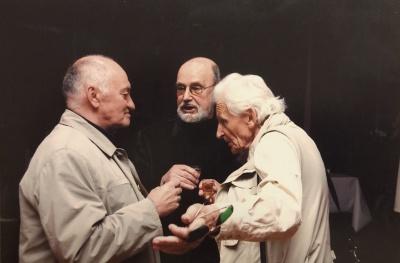 A. Dabulskis, R. Marčėnas ir V. Kalvaitis