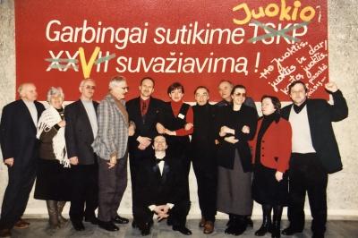 A. Dabulskis agitmeninių brigadų konkurse