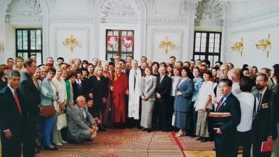 Dalai Lamos vizitas Lietuvoje, 2001