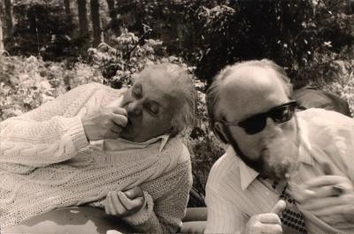 Juozas Grušas ir Petras Palilionis