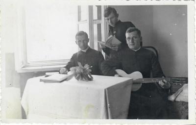 Poetai Kazys Zupka-Kecioris ir Stasius Būdavas