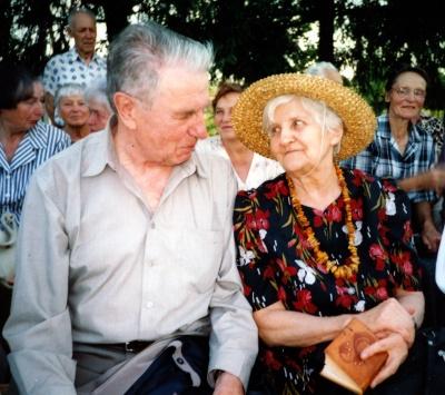 Justinas Marcinkevičius ir Marija Macijauskienė