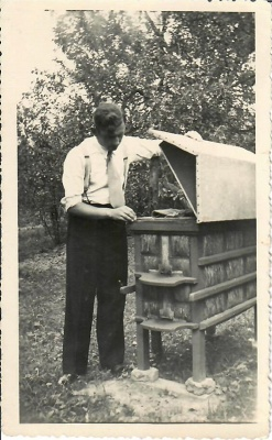 Poetas Kazys Zupka-Kecioris – bitininkas