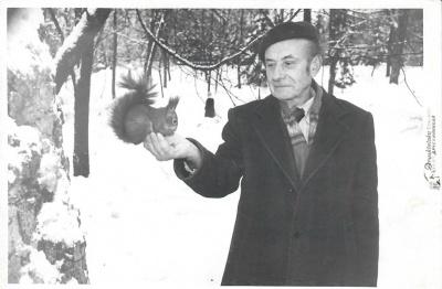Poetas Kazys Zupka-Kecioris Druskininkuose