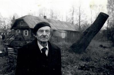 Poetas Kazys Zupka-Kecioris gimtinėje