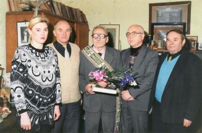 85-ojo poeto Kazio Zupkos-Keciorio gimtadienio šventė