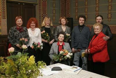 Rašytojai su viešniomis iš Marijampolės