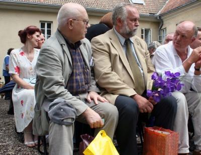 E. Drungytė, P. Palilionis, J. Liniauskas ir V. Sventickas