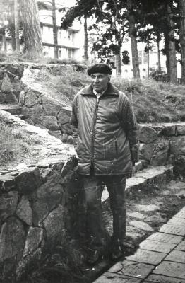 Juozas Grušas Palangoje
