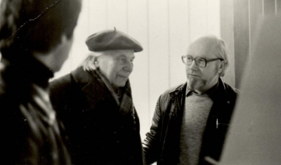 J. Grušas ir P. Palilionis
