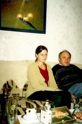 Gintautas Dabrišius su žmona Aušra