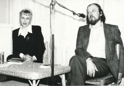 Aldona Ruseckaitė ir Valdemaras Kukulas