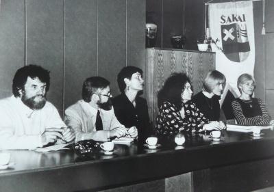 Poezijos pavasaris-1999 Šakių r.