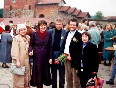 Poezijos pavasaris-1995 prie Kauno pilies