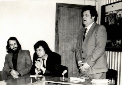 A. Kukaitis, R. Vaidotas ir A. Mikuta