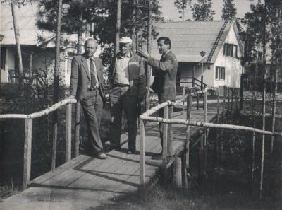 Aleksas Dabulskis, lankant tremties vieta