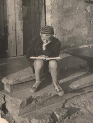 Augustas Tamaliūnas vaikystėje