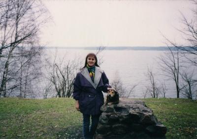 Rašytoja Lina Navickaitė Palemone