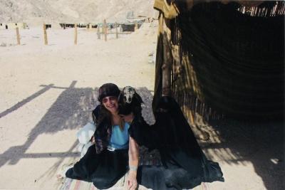 Lina Navickaitė Egipte