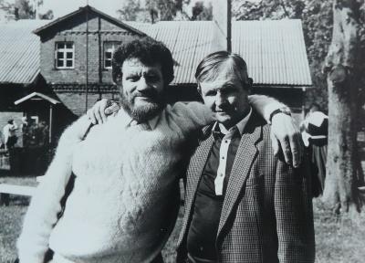 V. Vaitkevičius su A. Krapavicku
