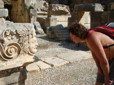 Tomas Šinkariukas antikiniame Miros teatre