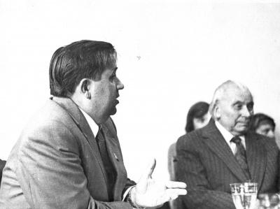 Vladislovas Mikučiauskas ir Juozas Grušas