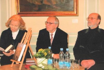 D. Teišerskytė, P. Venclovas ir R. Marčėnas
