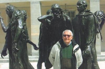 Rašytojas Petras Venclovas Bazelyje