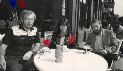 G. Patackas, T. Marcinkevičiūtė ir D. Kajokas