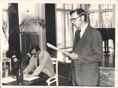 Laimonas Inis ir Vytautas Martinkus