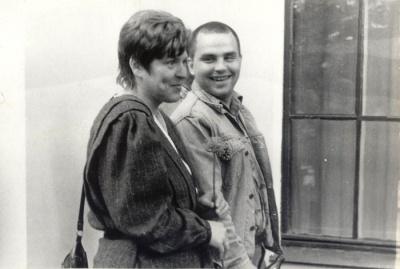 Violeta Šoblinskaitė ir Gintaras Gutauskas