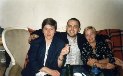 Violeta Šoblinskaitė Aleksa, Gintaras Gutauskas ir Irena Mačienė