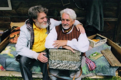 V. Vaitkevičius su B. Kašelioniu