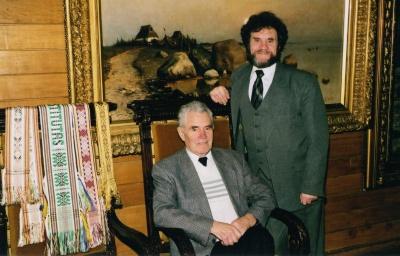 Broliai Vladas ir Mečislovas