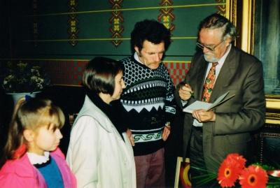 V. Vaitkevičius ir M. Martinaitis