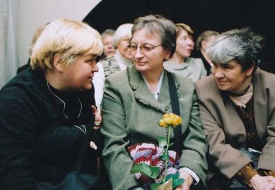 Dovilė Zelčiūtė, Rita Vinciūnienė ir Aldona Elena Puišytė