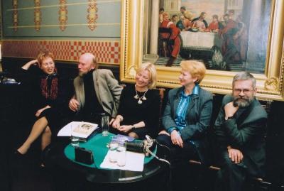 Literatūros vakaras Maironio namų svetainėje