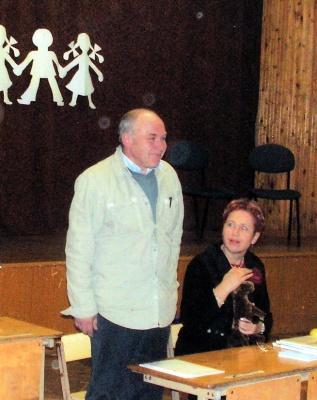 Gintautas Dabrišius ir Aldona Ruseckaitė