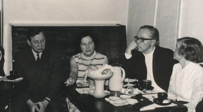 Aleksandras Žirgulis, Ona Dabrilaitė ir Laimonas Noreika